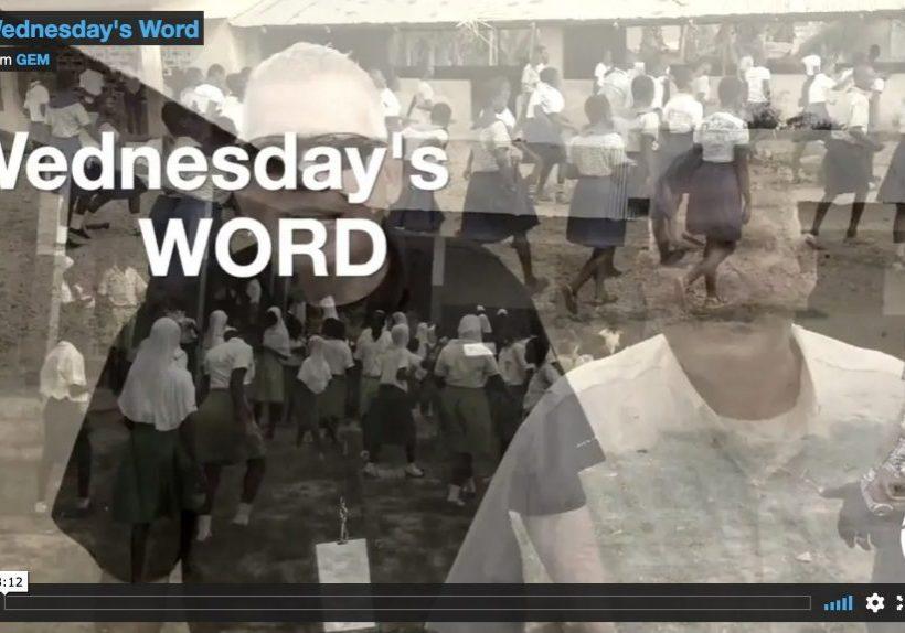 wednesdays-word